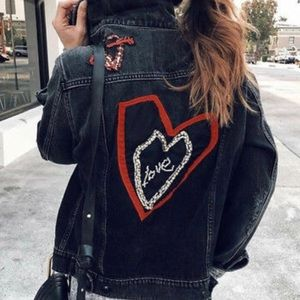 Sanctuary Heart Breaker Denim Jacket